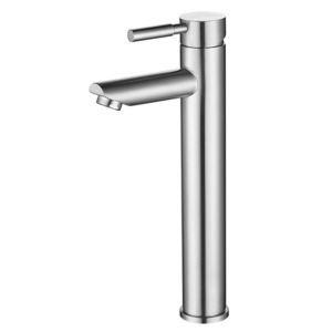 洗面蛇口 バス水栓 単水栓 水道蛇口 立水栓 ステンレス鋼 ヘアライン