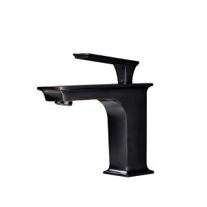 洗面水栓 バス蛇口 冷熱混合栓 立水栓 水道蛇口 水栓金具 レトロ ORB H16cm