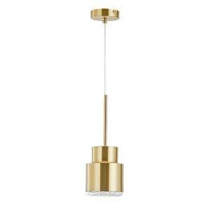 ペンダントライト 照明器具 ダイニング照明 寝室照明 玄関照明 北欧風 金色 1灯 MDD006