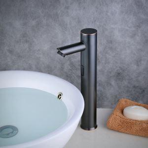 センサー水栓 自動水栓 洗面蛇口 単水栓 水道蛇口 真鍮製 ORB