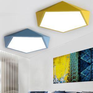 LEDシーリングライト 照明器具 天井照明 リビング照明 ダイニング 寝室 書斎 店舗 ダイヤモンド型 薄い オシャレ LED対応