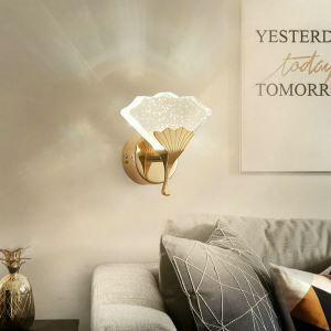 LED壁掛け照明 ウォールランプ ブラケットライト 玄関照明 間接照明 気泡付 イチョウ型 LED対応 QM6001