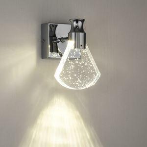 LED壁掛け照明 ウォールランプ ブラケットライト 玄関照明 間接照明 気泡付 扇形 LED対応 QM6006