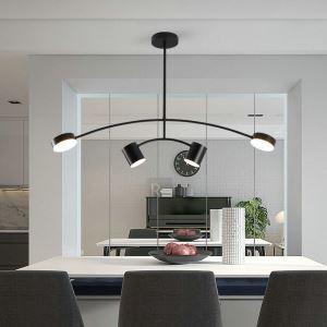 LEDペンダントライト リビング照明 ダイニング照明 寝室 店舗 北欧風 黒色 LED対応 QM6953