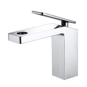 洗面蛇口 バス水栓 冷熱混合栓 水道蛇口 真鍮 4色 H172mm