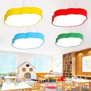 LEDペンダントライト 照明器具 子供屋照明 リビング照明 天井照明 雲型 LED対応 MSXD084