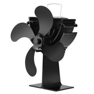 ストーブファン 暖炉ファン ヒートパワー 低騒音 静音 電源不要 空気循環 冬対策 冷え対策
