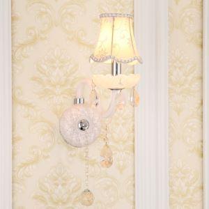 壁掛けライト クリスタル照明 ウォールランプ ブラケット 照明器具 玄関照明 白色 1灯/2灯