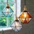 ペンダントライト リビング照明 ダイニング照明 玄関照明 ステンドガラス 6畳8畳 地中海風 1灯