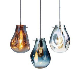 ペンダントライト 照明器具 リビング ダイニング 寝室 店舗 玄関 吹き抜け 気泡 ガラス 1灯