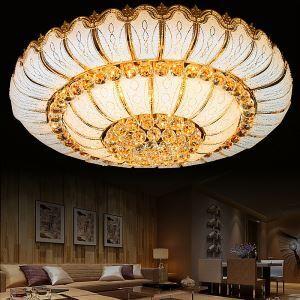 LEDシーリングライト クリスタル照明 天井照明 リビング照明 円形 オシャレ LED対応 LS6065