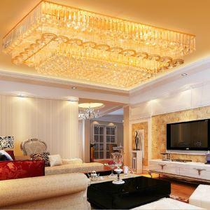 LEDシーリングライト クリスタル照明 天井照明 リビング照明 方形 オシャレ LED対応 LS89392S