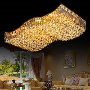 LEDシーリングライト クリスタル照明 天井照明 リビング照明 方形 オシャレ LED対応 LS83089