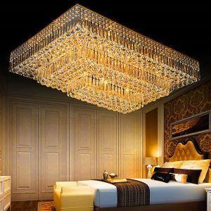 LEDシーリングライト クリスタル照明 天井照明 リビング照明 3段階方形 LED対応 LS83171