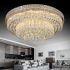 LEDシーリングライト クリスタル照明 天井照明 リビング照明 円形 オシャレ LED対応 LS89222R