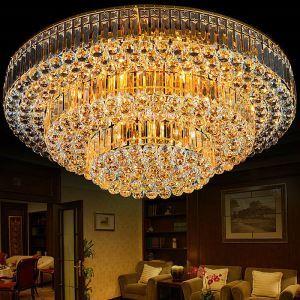LEDシーリングライト クリスタル照明 天井照明 リビング照明 3段階円形 LED対応 LS83171R