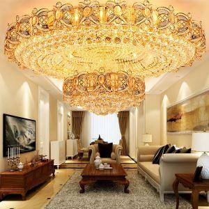 LEDシーリングライト クリスタル照明 天井照明 リビング照明 円形 オシャレ LED対応 LS89015R
