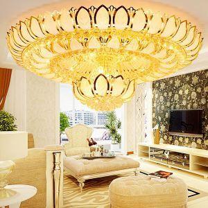 LEDシーリングライト クリスタル照明 天井照明 リビング照明 円形 オシャレ LED対応 LS89384