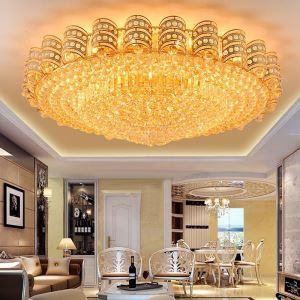 LEDシーリングライト クリスタル照明 天井照明 リビング照明 円形 オシャレ LED対応 LS89381