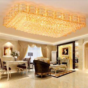 LEDシーリングライト クリスタル照明 天井照明 リビング照明 方形 オシャレ LED対応 LS89387S