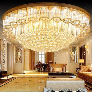LEDシーリングライト クリスタル照明 天井照明 リビング照明 円形 オシャレ LED対応 LS89390