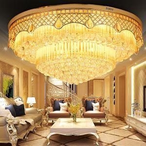 LEDシーリングライト クリスタル照明 天井照明 リビング照明 円形 オシャレ LED対応 LS89388