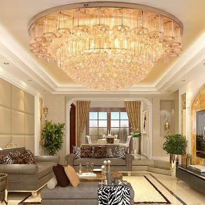 LEDシーリングライト クリスタル照明 天井照明 リビング照明 円形 オシャレ LED対応 LS89393
