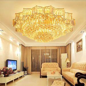 LEDシーリングライト クリスタル照明 天井照明 リビング照明 円形 オシャレ LED対応 LS89396