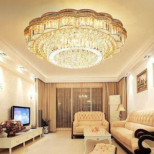 LEDシーリングライト クリスタル照明 天井照明 リビング照明 円形 オシャレ LED対応 LS89397R