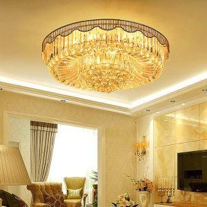 LEDシーリングライト クリスタル照明 天井照明 リビング照明 円形 オシャレ LED対応 LS89401