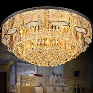 シーリングライト クリスタル照明 天井照明 リビング照明 円形 オシャレ LS83316R