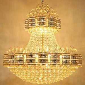 ペンダントライト 天井照明 吹き抜け照明 ホテル照明 クリスタル 豪華 オシャレ LS91445