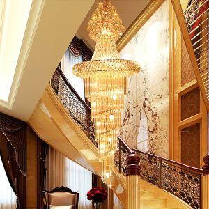 ペンダントライト 天井照明 吹き抜け照明 ホテル照明 クリスタル 豪華 オシャレ LS91402
