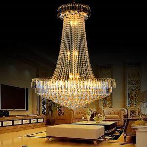 ペンダントライト 天井照明 吹き抜け照明 ホテル照明 クリスタル 豪華 オシャレ LS91060
