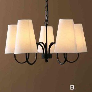 シャンデリア リビング照明 ダイニング照明 照明器具 店舗照明 北欧風 ブラック A/B/C