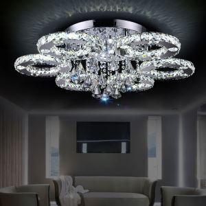 LEDシーリングライト 照明器具 クリスタル照明 玄関照明 天井照明 6輪