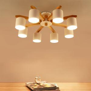 シーリングライト 天井照明 リビング照明 寝室照明 和風 5/6/8灯