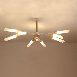 LEDシャンデリア 天井照明 リビング照明 寝室照明 枝型 北欧風 9/18/24灯