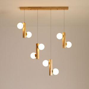 LEDペンダントライト 天井照明 リビング照明 ダイニング照明 魔豆型 LED対応 3/6/8/10灯