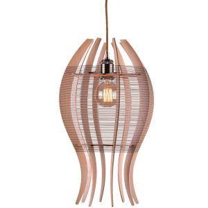 ペンダントライト 天井照明 玄関照明 吹き抜け照明 DIY 木製 金魚型 1灯