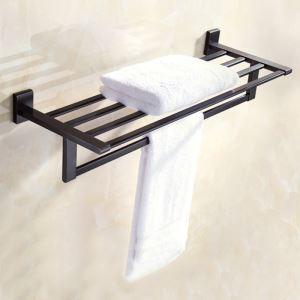 浴室タオルラック タオル掛け 壁掛けハンガー タオル収納 穴開け不要 ORB
