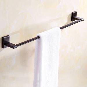 浴室タオルバー タオル掛け 壁掛けハンガー タオル収納 一重/二重 ORB