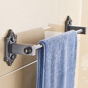 浴室タオルバー タオル掛け 壁掛けハンガー タオル収納 ORB