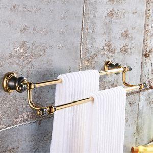 壁掛けタオルバー タオルハンガー タオル掛け タオル収納 真鍮 2色