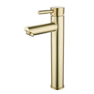 洗面蛇口 バス水栓 冷熱混合栓 手洗器水栓 水道蛇口 H292mm