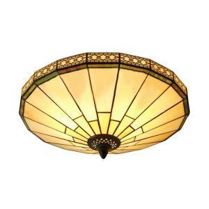 シーリングライト ステンドグラスランプ 天井照明 2灯 BEH403716