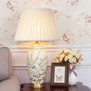 テーブルランプ スタンドライト 間接照明 デスクライト 陶器照明 リビング 寝室 書斎 玄関 オシャレ 1灯 HY105