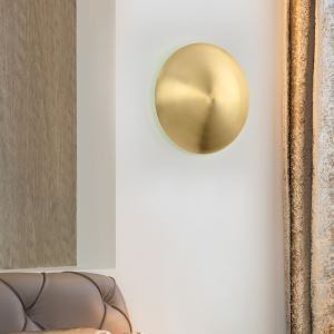 LED壁掛け照明 ブラケット ウォールランプ 玄関照明 間接照明 銅鑼型 LED対応 B5510