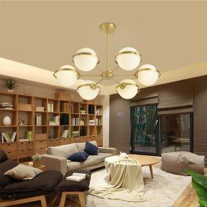 LEDシャンデリア リビング照明 ダイニング照明 寝室照明 地球儀型 LED対応