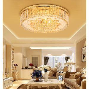 LEDシーリングライト クリスタル照明 天井照明 リビング照明 円形 オシャレ LED対応 LS89096